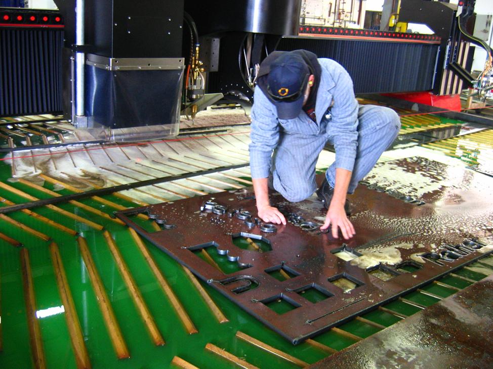 Greencut Plasma Water Table Fluid For Cnc Plasma Cutting