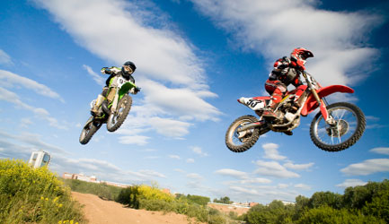 Motocross Air Shot